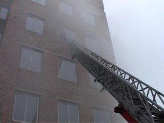 У Рівному з пожежі у новобудові евакуювали кількох людей
