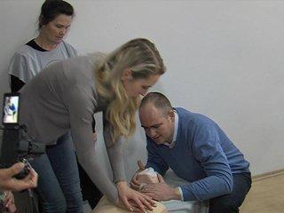 Рівненських журналістів вчили надавати першу допомогу