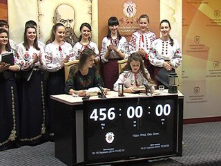 Світовий рекорд Гіннеса встановили в Національному університеті