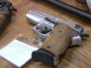 На Рівненщині здали 89 одиниць вогнепальної та холодної зброї