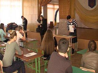 На Рівненщині пройшов другий етап пробного тестування із ЗНО