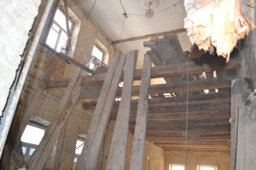У Рівному обвалилася стіна будинку