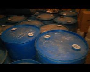 На Рівненщині зупинили вантажівку, у якій було більше 7 тисяч літрів спирту