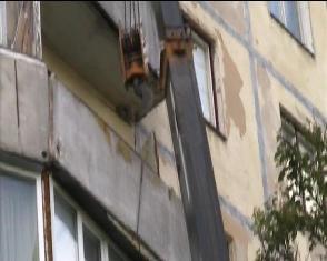 У Рівному мало не обвалився балкон