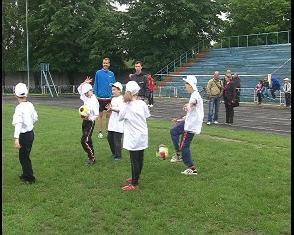 У Костополі пройшов дитячий фестиваль футболу [ВІДЕО]
