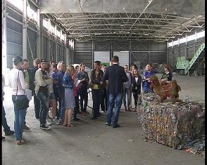 На сміттєпереробному заводі у Рівному влаштовують екскурсії