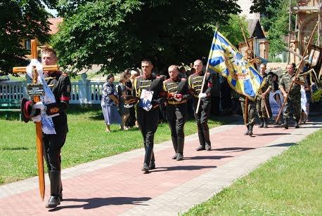 На Рівненщині прощалися з бойовим офіцером- пілотом, який загинув за Україну [ФОТО]