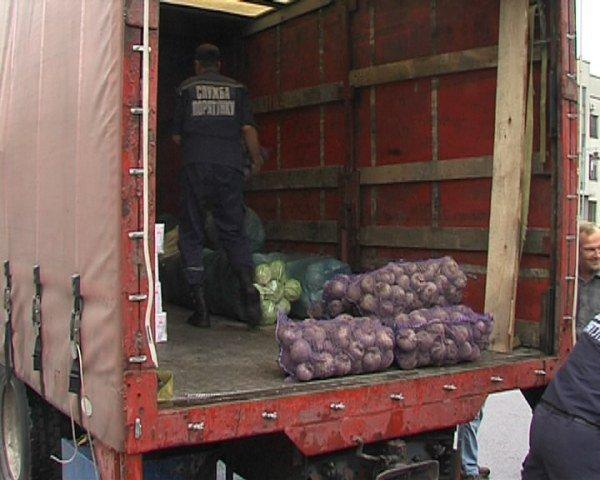 500 кілограмів продуктів поїхали з Рівного у Святогірськ