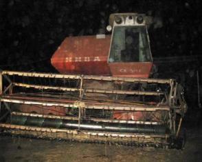 На Рівненщині потяг зіткнувся з комбайном