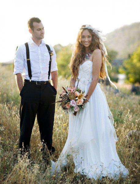 Європейське весілля в стилі бохо  ФОТО . Весільні новини. Телеканал ... c68642255f454