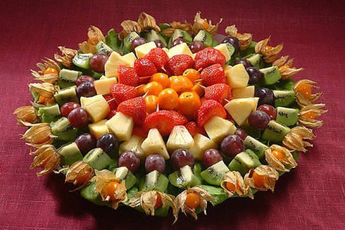 Як красиво подати фрукти і ягоди?. Господині - Порадник