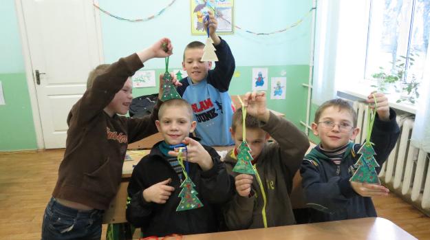 На Рівненщині дітям зі школи-інтернату