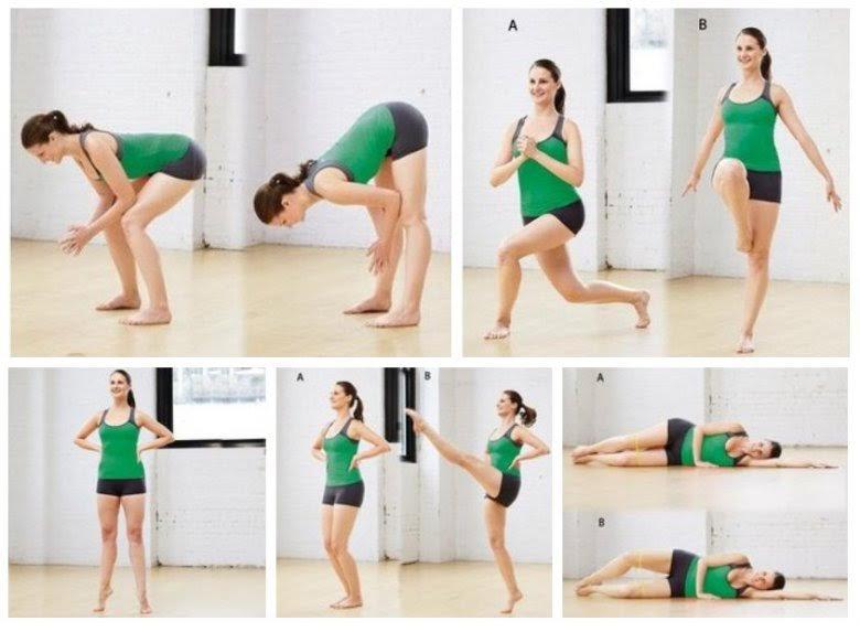 Как быстро похудеть с помощью гимнастики
