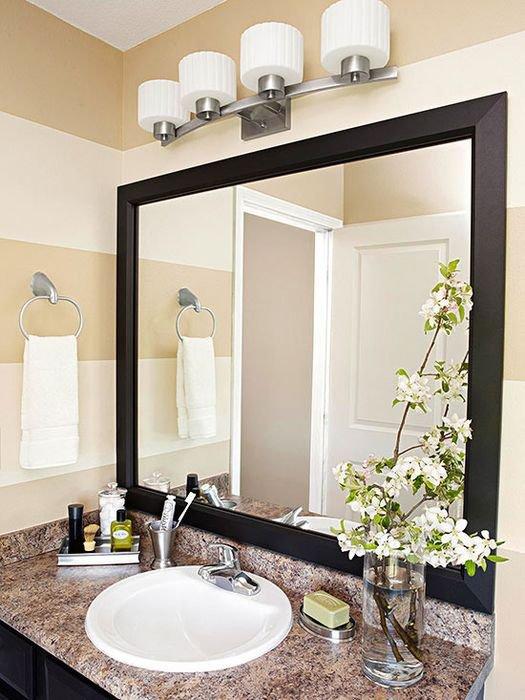 Дзеркало у вану кімнату фото фото 399-809