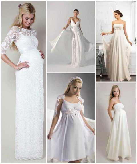 d36899f5c2a553 Яку весільну сукню обрати вагітній нареченій?. Весільні тренди ...