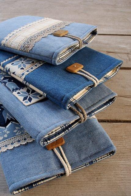 Как сшить чехол для телефона из джинсов своими руками