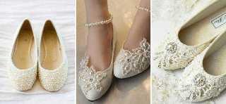 4db6a08d85ccbf Яким нареченим варто купувати весільне взуття на пласкій підошві ...