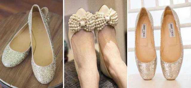 e4b2ccb9d4fa57 Рідко коли наречена по завершенню весілля зможе взути куди-небудь свої  модні туфлі на шпильці. Зазвичай, вони припадають пилом у шафі і взуваються  не ...