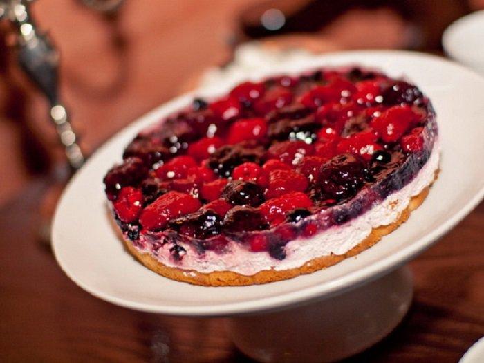Ягодный пирог из тироля рецепт