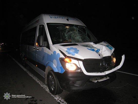 На Прикарпатті пішохід потрапив під колеса рейсового автобусу