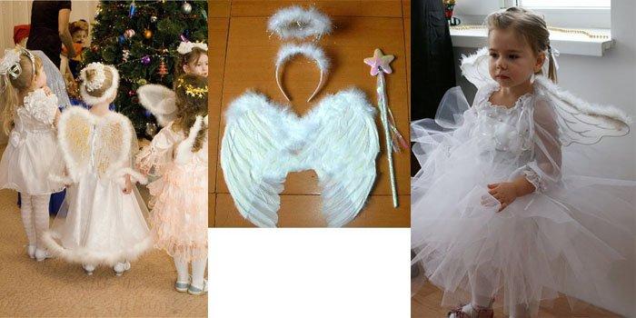 Сделать костюм ангела своими руками