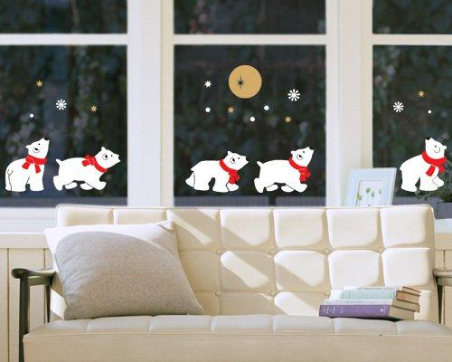 Бумажные наклейки на окна к новому году своими руками