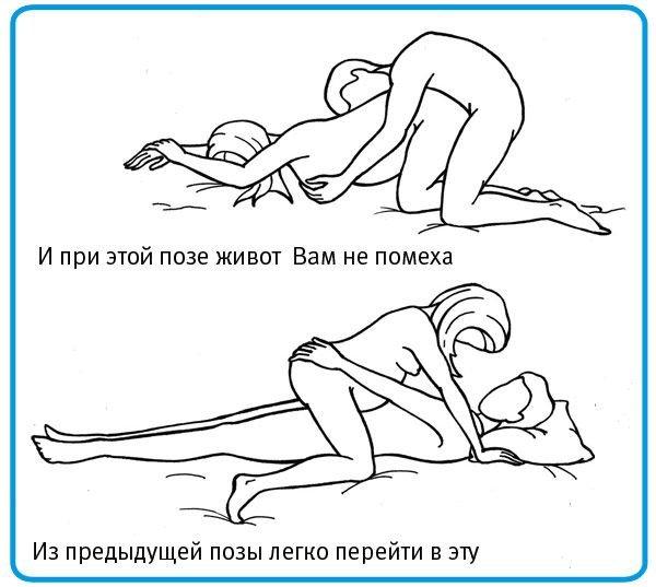 Пози секс при вагтност